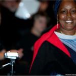 Madame Hadja Salimatou Diallo, fondatrice de l'Université René-Lévesque de Conakry, en Guinée.