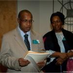 Le Docteur Mamadou Rafi Diallo et madame Hadja Salimatou Diallo, de l'Université René-Lévesque de Conakry.