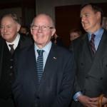 Trois anciens premiers ministres du Québec : Jacques Parizeau, Bernard Landry et Lucien Bouchard.